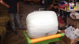 Siromer bale wrapper
