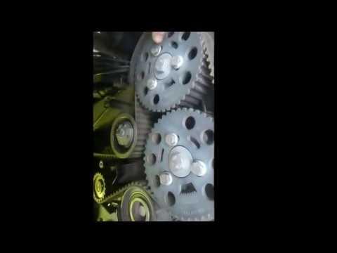 Замена ремня грм 2.0 TDi Audi A6 C6 4F !