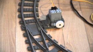 getlinkyoutube.com-Arduino for Lego Trains #3: Motorized Track Switches