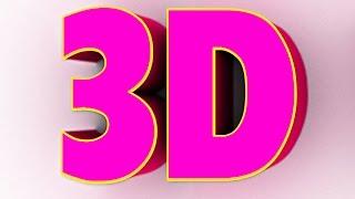 getlinkyoutube.com-How to Design 3D Text In adobe Photoshop (Hindi)
