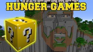 getlinkyoutube.com-Minecraft: TEMPLE OF NOTCH HUNGER GAMES - Lucky Block Mod - Modded Mini-Game