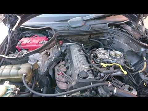 Стук двигателя. Мотор m102 от w124 E230 1990 года