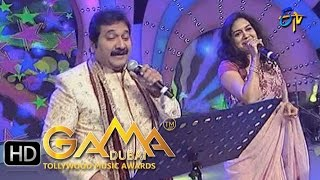 Gum Gumainchu Song - Mano,Sunitha Performance in ETV GAMA Music Awards 2015 - 13th March 2016