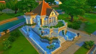 getlinkyoutube.com-The Sims 4 Дом «Кувшинка»