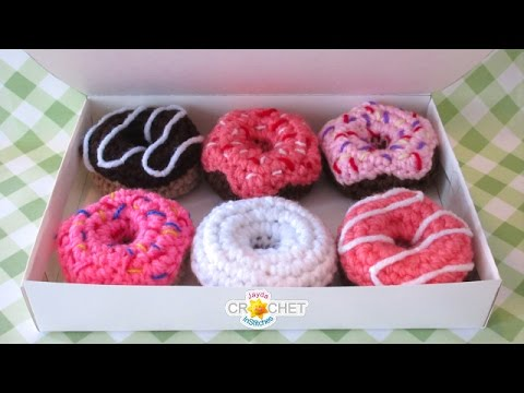 Pretty Little Donuts - Crochet Tutorial