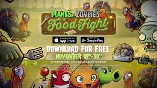 getlinkyoutube.com-Plants vs. Zombies 2 Food Fight Trailer