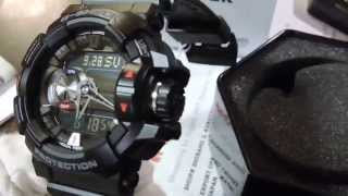 getlinkyoutube.com-CLOSE LOOK! Casio G-Shock Bluetooth G'Mix Series GBA-400