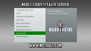 getlinkyoutube.com-NXBLS 17489 Stealth Server Xbox 360 Jtag/RGH
