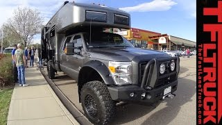 getlinkyoutube.com-EarthRoamer XV-LTS F-550 Off-Road RV: Ultimate Zombiepocalypse Luxury Ride