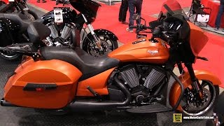 2017 Victory Cross Country - Walkaround - 2017 Toronto Motorcycle Show