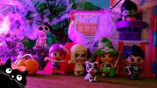 getlinkyoutube.com-Casa del Terror de los Pinymonsters - Juguetes Pinypon - Vídeos de Juguetes Halloween