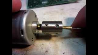getlinkyoutube.com-DIY Home Made Circuit Board (PCB) Drill