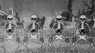 getlinkyoutube.com-silly symphony - the skeleton dance 1929 disney short