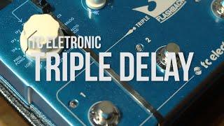 getlinkyoutube.com-TC Eletronic - Flash Back // Triple Delay // Review - Lucas Ferreira