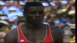 getlinkyoutube.com-Carl Lewis winning Four Gold Medals at the Olympic Games 1984!