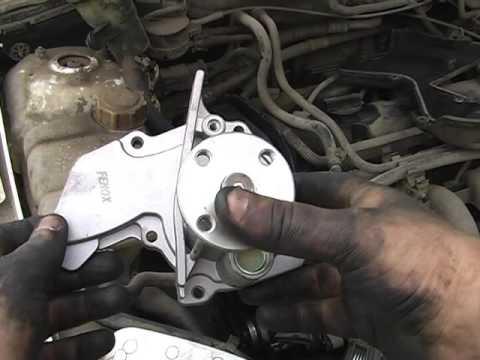 Ford Focus 1. Замена помпы(водяной насос)