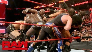 Roman Reigns and Bobby Lashley cause chaos before Extreme Rules: Raw, July 9, 2018 width=