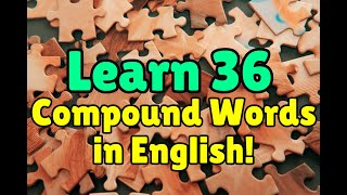 getlinkyoutube.com-English Vocabulary: Compound Words