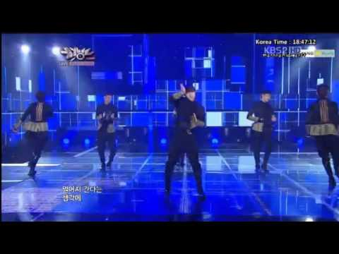 121116 C-CLOWN - Far away @ Music Bank : Comeback Stage
