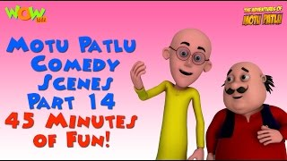 getlinkyoutube.com-Motu Patlu comedy scenes Part 14 - Motu Patlu Compilation