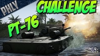 getlinkyoutube.com-CROSS THE POND - PT-76 CHALLENGE - (War Thunder Tanks Gameplay)