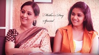getlinkyoutube.com-Yesteryear Actress Menaka and her Daughter Keerthi Suresh's Interview | Remo Actress