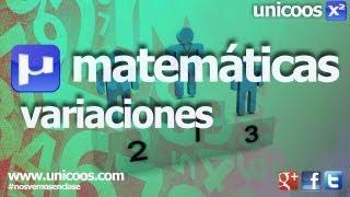 Imagen en miniatura para Combinatoria 05 - Variaciones sin repeticion
