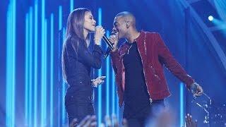 getlinkyoutube.com-Zendaya & Mario - Let Me Love You (Live at Greatest Hits ABC)
