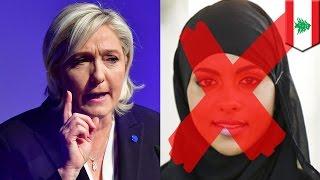 getlinkyoutube.com-Marine Le Pen headscarf: Le Pen refuses to wear hijab in talks with Lebanese cleric - TomoNews