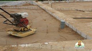getlinkyoutube.com-Полы по грунту при строительстве коттеджа