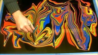 getlinkyoutube.com-Swirling (Swirling my HANDS using 4 Colours)