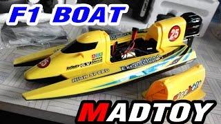 getlinkyoutube.com-ขาย เรือบังคับไฟฟ้า F1 RC SpeedBoat 1,390บ. MADTOY