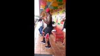 getlinkyoutube.com-Black Guy vs Kid Tribal Dance Battle