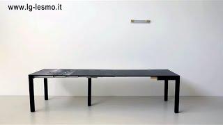 getlinkyoutube.com-TAVOLO CONSOLLE ALLUNGABILE | LG LESMO