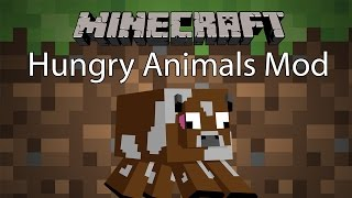 getlinkyoutube.com-Minecraft Mod รีวิว - Mod สัตว์หิว | Hungry Animals Mod