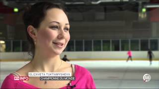 Stephane Lambiel choregraph for Elizaveta Tuktamisheva