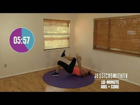 10 Minute Abs Workout - At Home Abdominal, Oblique, Core Strength Exercises All Levels No Equipment