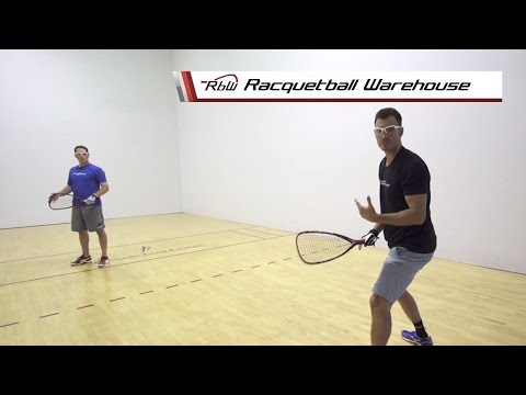How to Return a Drive Jam Serve | Racquetball Warehouse