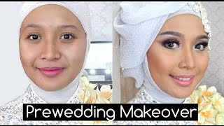 getlinkyoutube.com-Tutorial Soft Make Up dan Hijabstyle Prewedding ala IniVindy