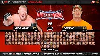 getlinkyoutube.com-WWE 2K17 ROSTER - WWE 2K17 Concept