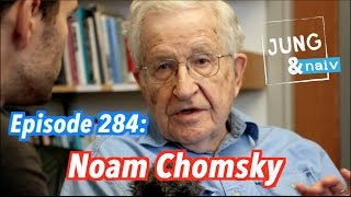 getlinkyoutube.com-Noam Chomsky: The Alien perspective on humanity - Jung & Naiv: Episode 284