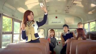 getlinkyoutube.com-Himchan & Jongup - B.A.P & Apink Commercial for SKOOLOOKS 2014 Collection
