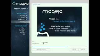 getlinkyoutube.com-Mageia 5 Beta3 KDE Desktop 64-bit. Install and review.