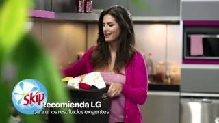 Anuncio TV lavadora de LG con Nuria Roca