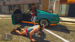 getlinkyoutube.com-GTA V PS4 - FALECEU