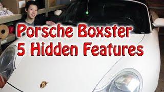 Porsche Boxster 5 Hidden Features   BeatTheBush