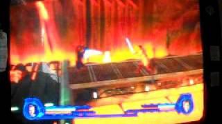 getlinkyoutube.com-Star Wars Episode 3: Revenge Of The Sith PS2 Game - Level 16 - Obi-Wan Kenobi Vs. Darth Vader