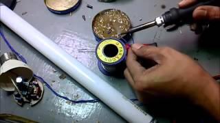 getlinkyoutube.com-Cara memperbaiki lampu Neon Cfl Part 2