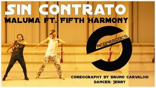 getlinkyoutube.com-Maluma - Sin Contrato  ft. Fifth Harmony (coreography - coreografia)