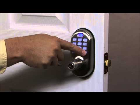 Yale Real Living Push Button Lever Lock Programming - Master PIN Code Setting 01